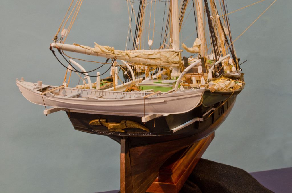 Bow Of A Boat >> Whaling Brig Kate Cory – Model Ships & Boats by
